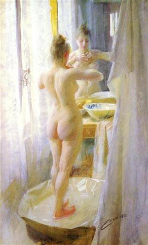 Le Tub | Anders Zorn | Oil Painting