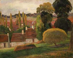 Farm in Brittany | Paul Gauguin | Oil Painting