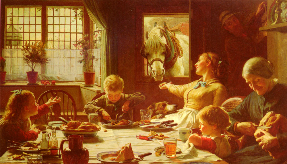 One Of The Family | F C Cotman | Oil Painting