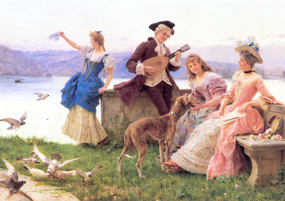 A Days Outing | Federico Andreotti | Oil Painting