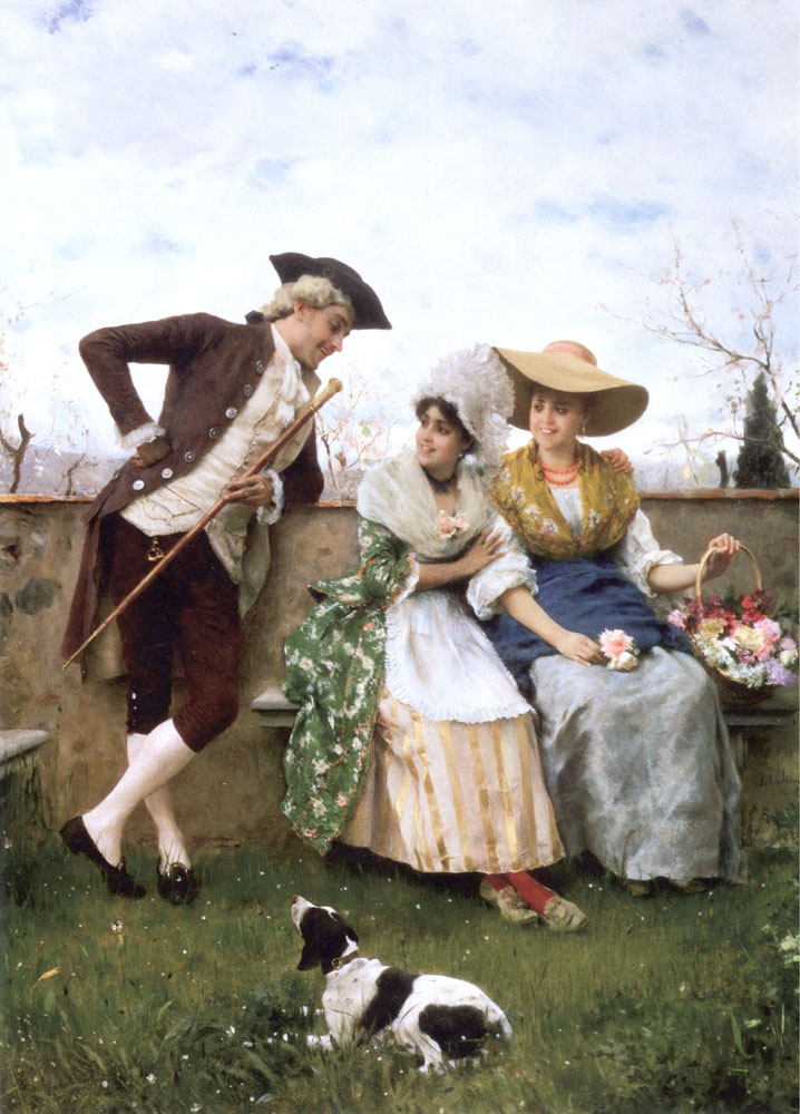 Flirtation | Federico Andreotti | Oil Painting