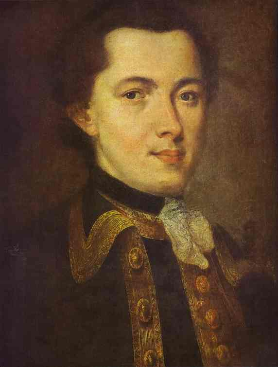 Portrait Of An Unknown Man 1757 | Fedor Rokotov | Oil Painting