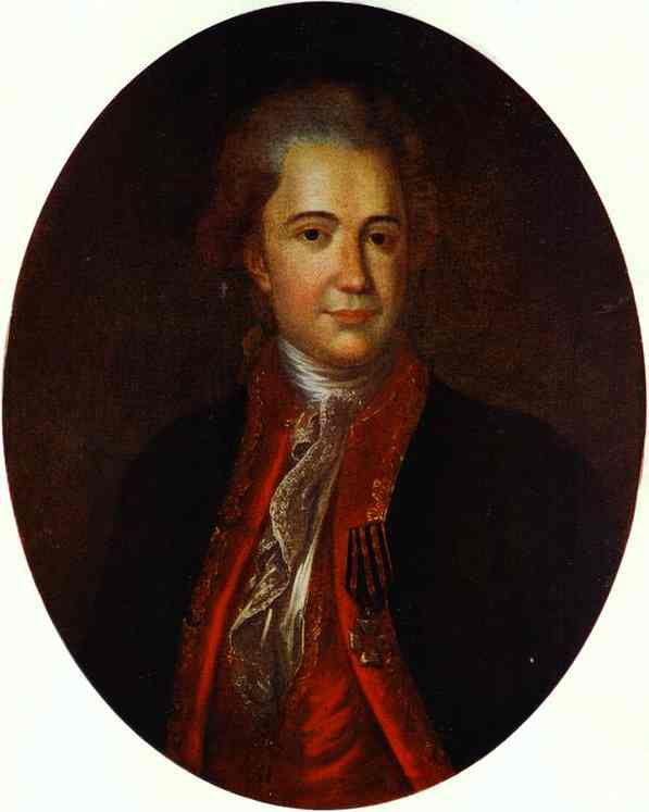Portrait Of An Unknown Man 1780s | Fedor Rokotov | Oil Painting