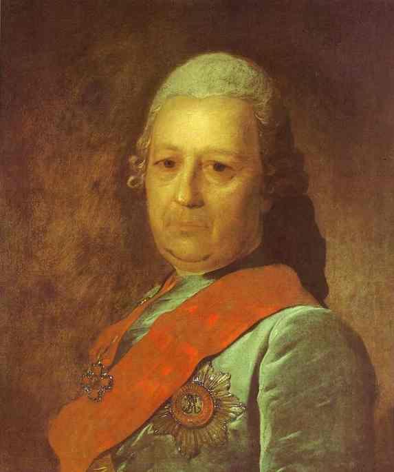 Portrait Of A M Obreskov 1777 | Fedor Rokotov | Oil Painting