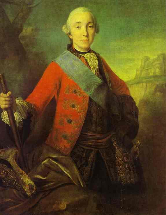 Portrait Of Great Duke Peter Fedorovich Later Emperor Peter Iii 1758   Fedor Rokotov   Oil Painting