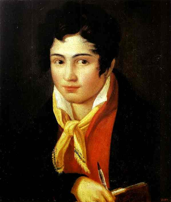 Self-Portrait 1810s | Feodor Bruni | Oil Painting