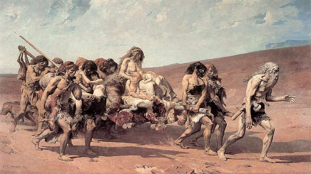 Cain | Fernan Cormon | Oil Painting