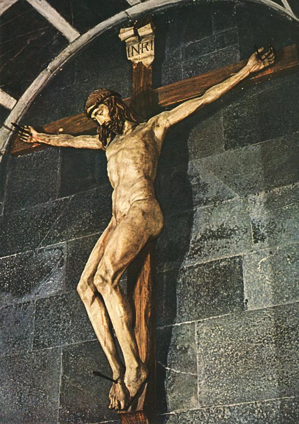 Crucifix   Filippo Brunelleschi   Oil Painting