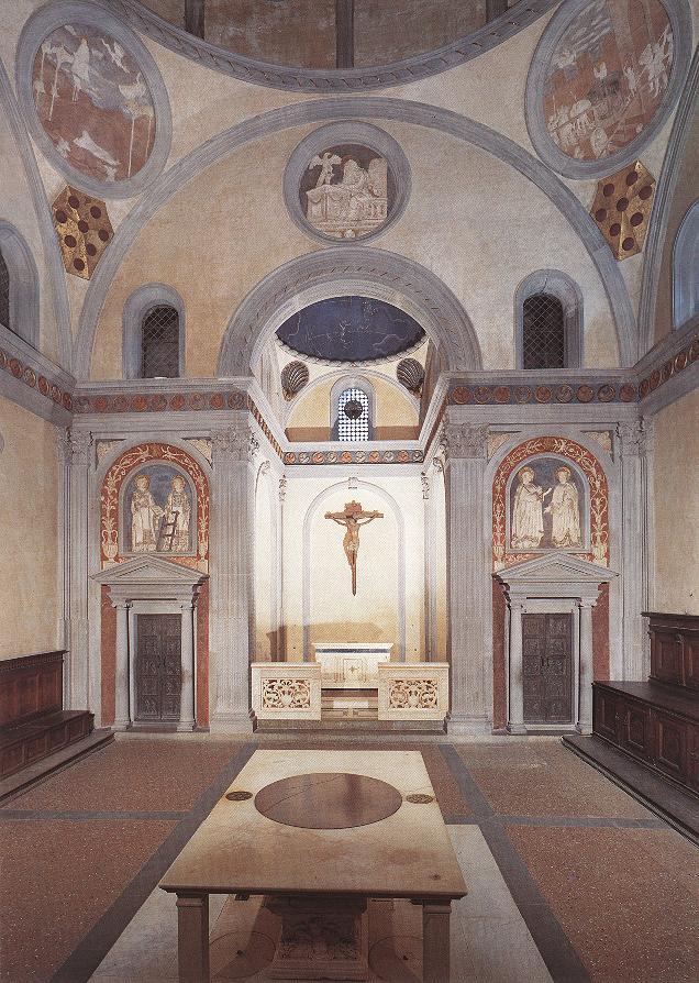 Old Sacristy   Filippo Brunelleschi   Oil Painting