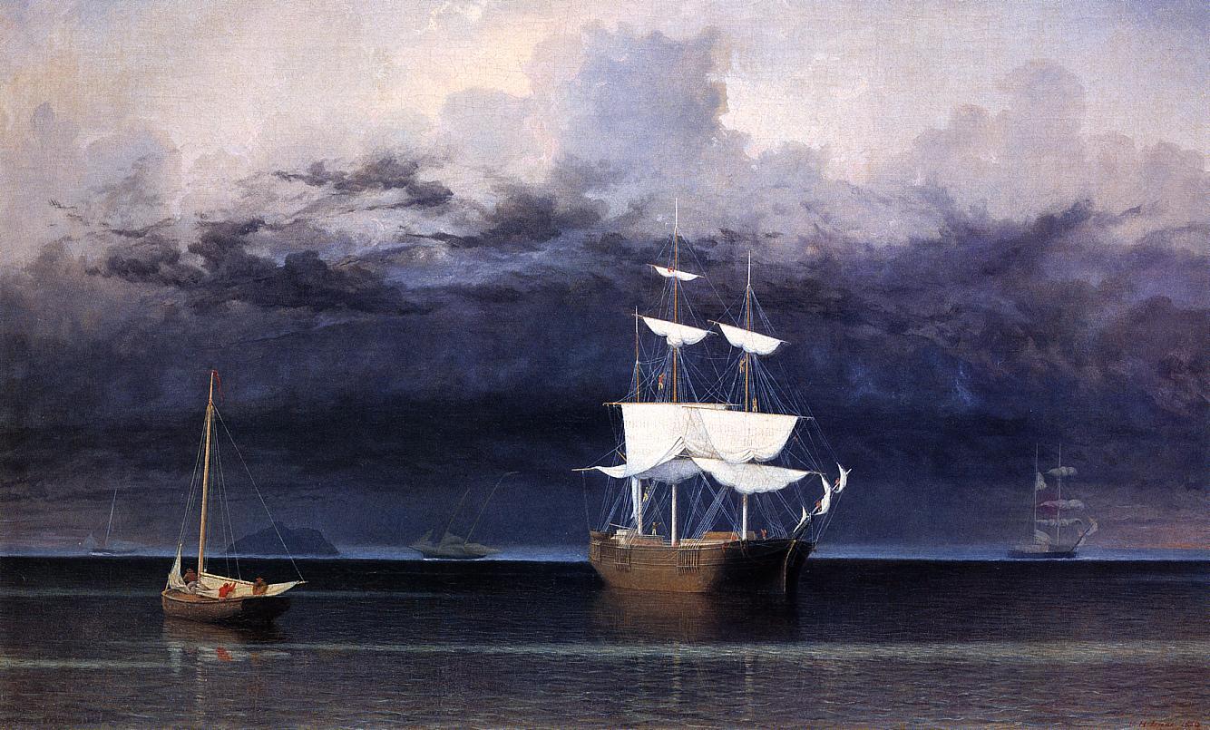 Approaching Storm 1860 | Fitz Hugh Lane | Oil Painting