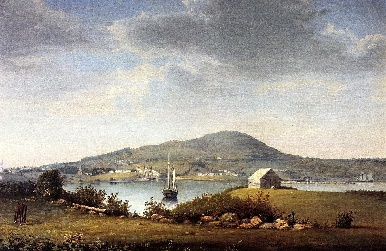 Blue Hill Maine 1853 1857 | Fitz Hugh Lane | Oil Painting