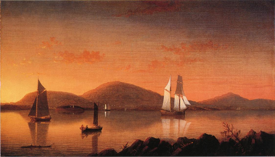 Camden from the Graves 1855 1862 | Fitz Hugh Lane | Oil Painting