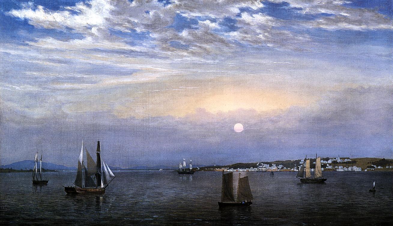 Castine 1851 1859 | Fitz Hugh Lane | Oil Painting