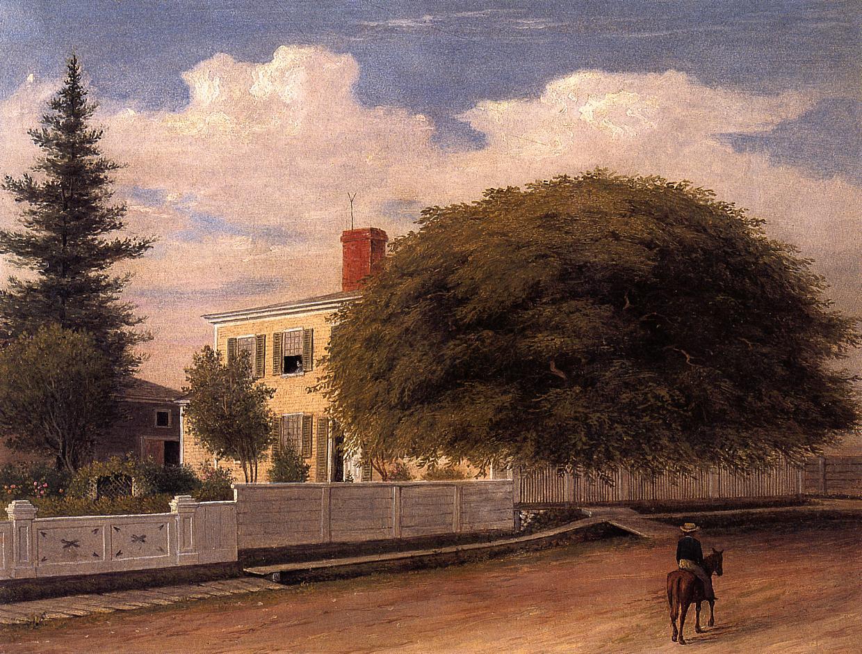 Castine Homestead 1859 | Fitz Hugh Lane | Oil Painting