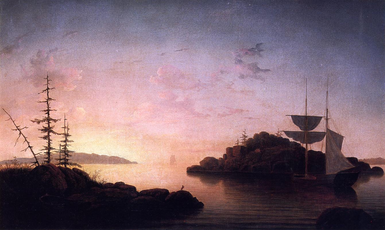 Christmas Cove 1863 | Fitz Hugh Lane | Oil Painting