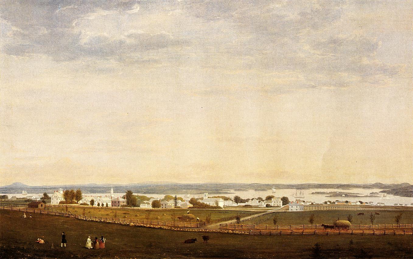Castine Maine 1850 | Fitz Hugh Lane | Oil Painting