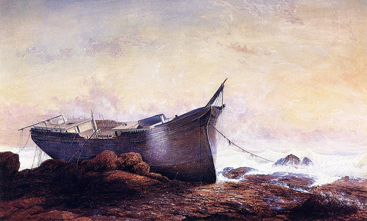 Dream Painting 1862 | Fitz Hugh Lane | Oil Painting