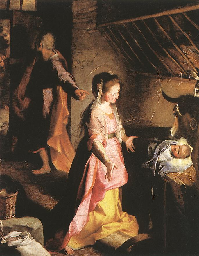 The Nativity 1597