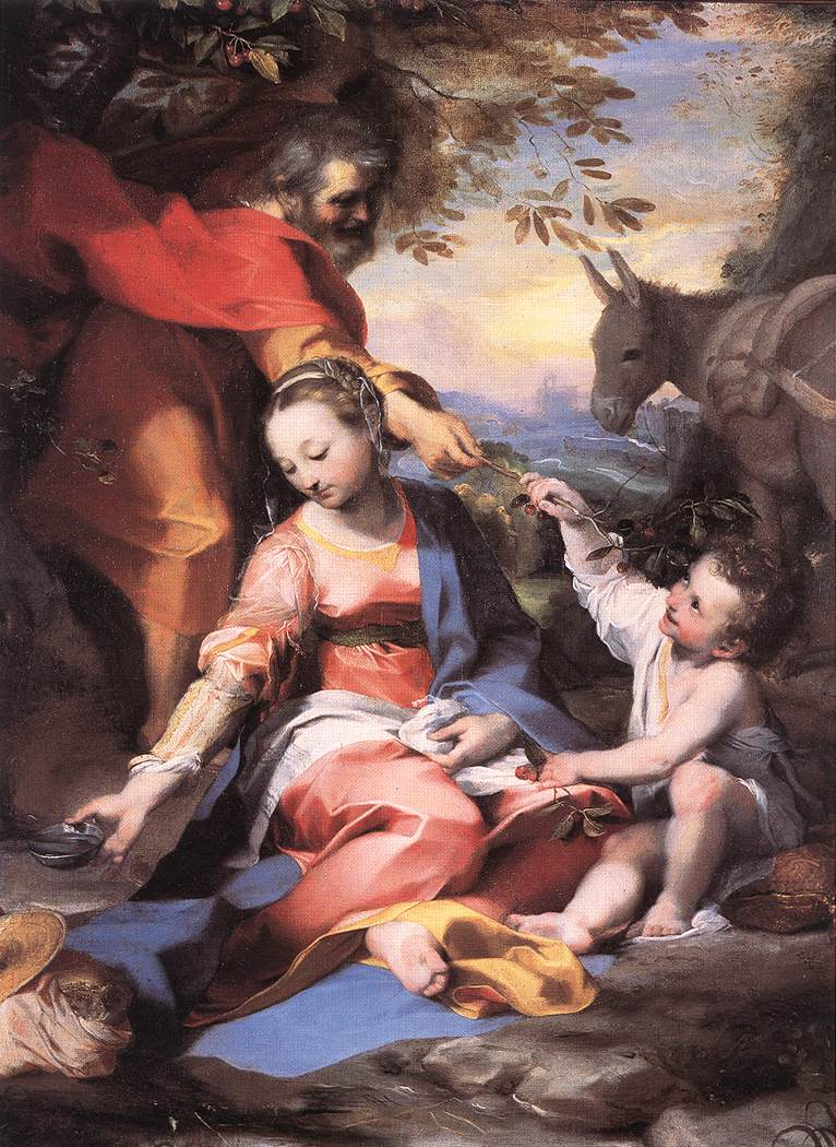 Rest On The Flight To Egypt 1570