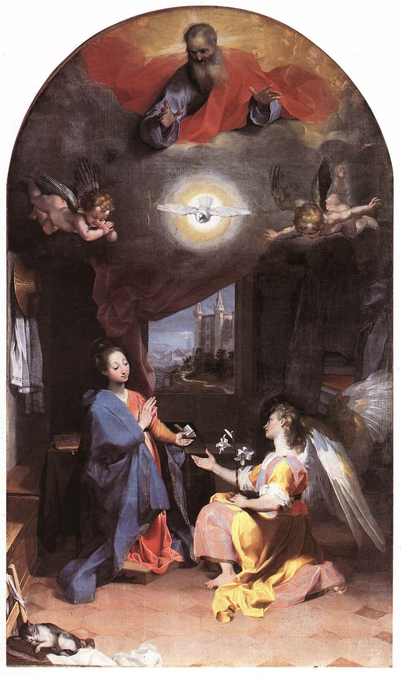 Annunciation 1592-96