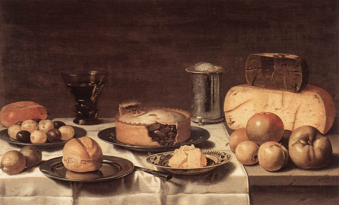 Breakfast | Floris Gerritsz Van Schooten | Oil Painting