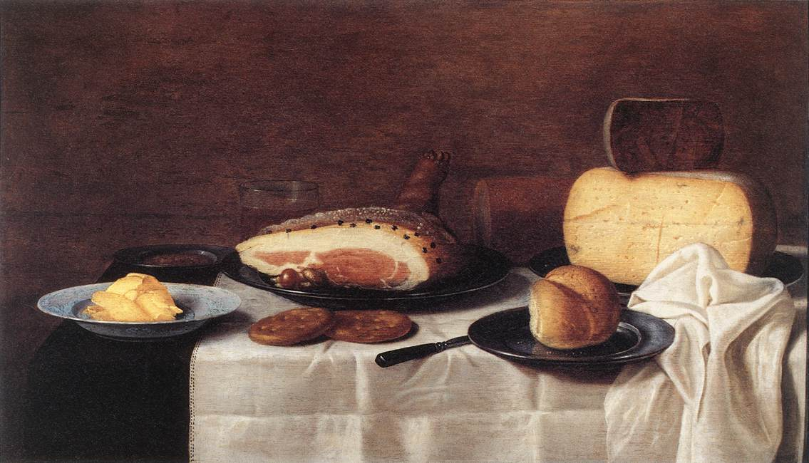 Still Life 1640 | Floris Gerritsz Van Schooten | Oil Painting