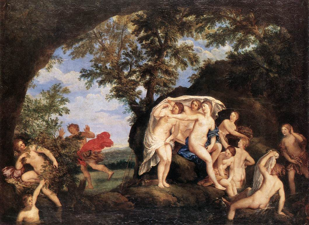 Diana And Actaeon 1625-30 | Francesco Albani | Oil Painting