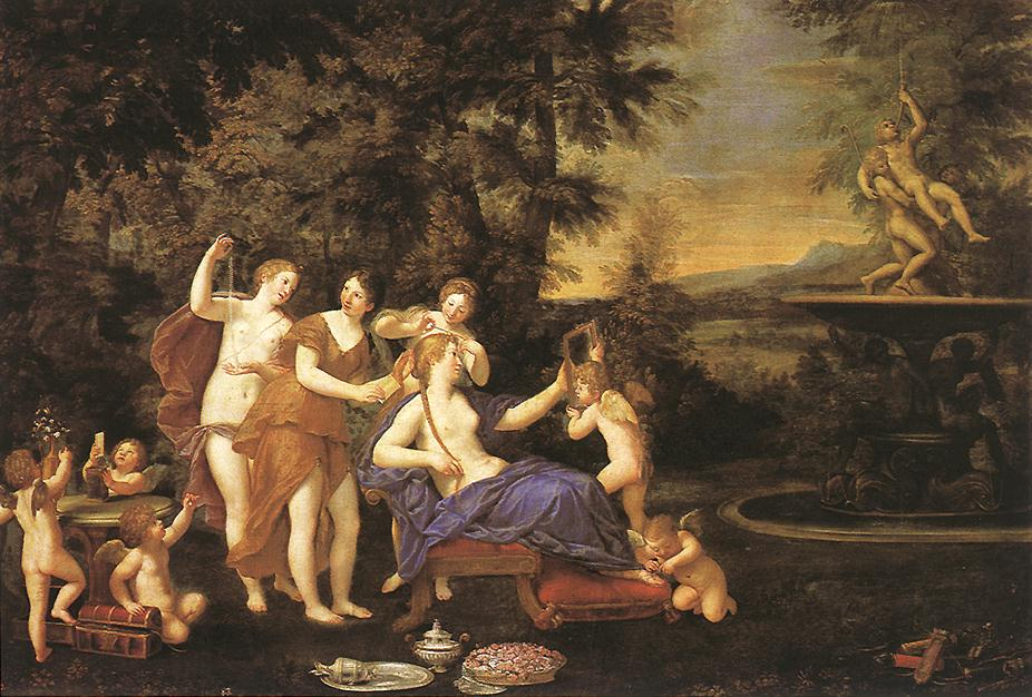 Venus Attended By Nymphs And Cupids 1633 | Francesco Albani | Oil Painting