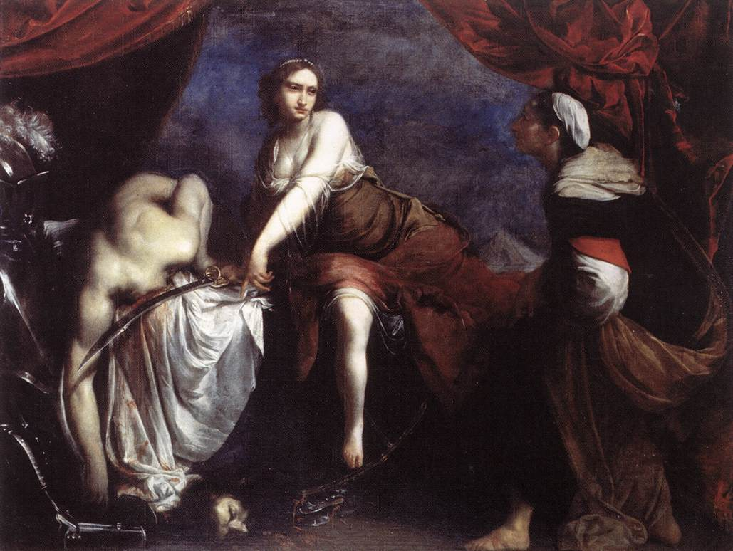 Judith And Holofernes 1636 | Francesco Furini | Oil Painting
