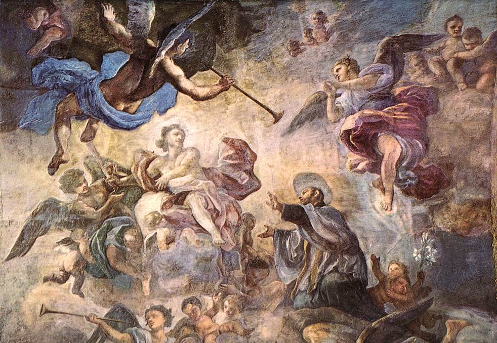 Saint Cajetan Appeasing Divine Anger | Francesco Solimena | Oil Painting