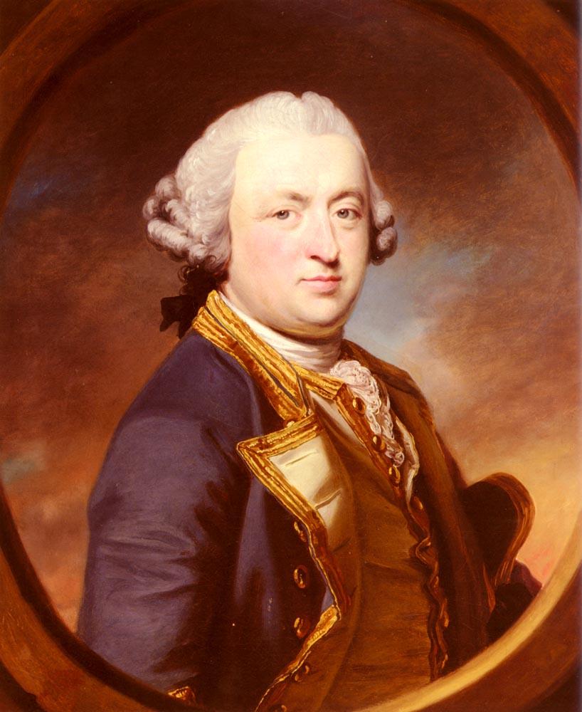Portrait Of Admiral Thomas Craven | Francis Cotes | Oil Painting