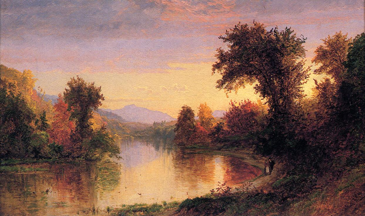 Autumn by the River 1871 | Francis Jasper Cropsey | Oil Painting
