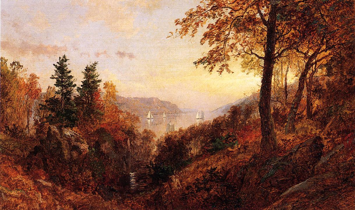 Autumn Landscape 1886 | Francis Jasper Cropsey | Oil Painting