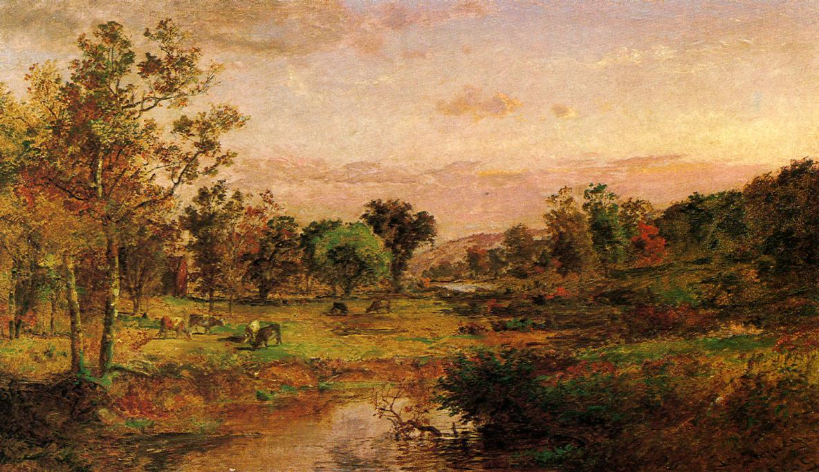 Autumn Pastoral 1889 | Francis Jasper Cropsey | Oil Painting