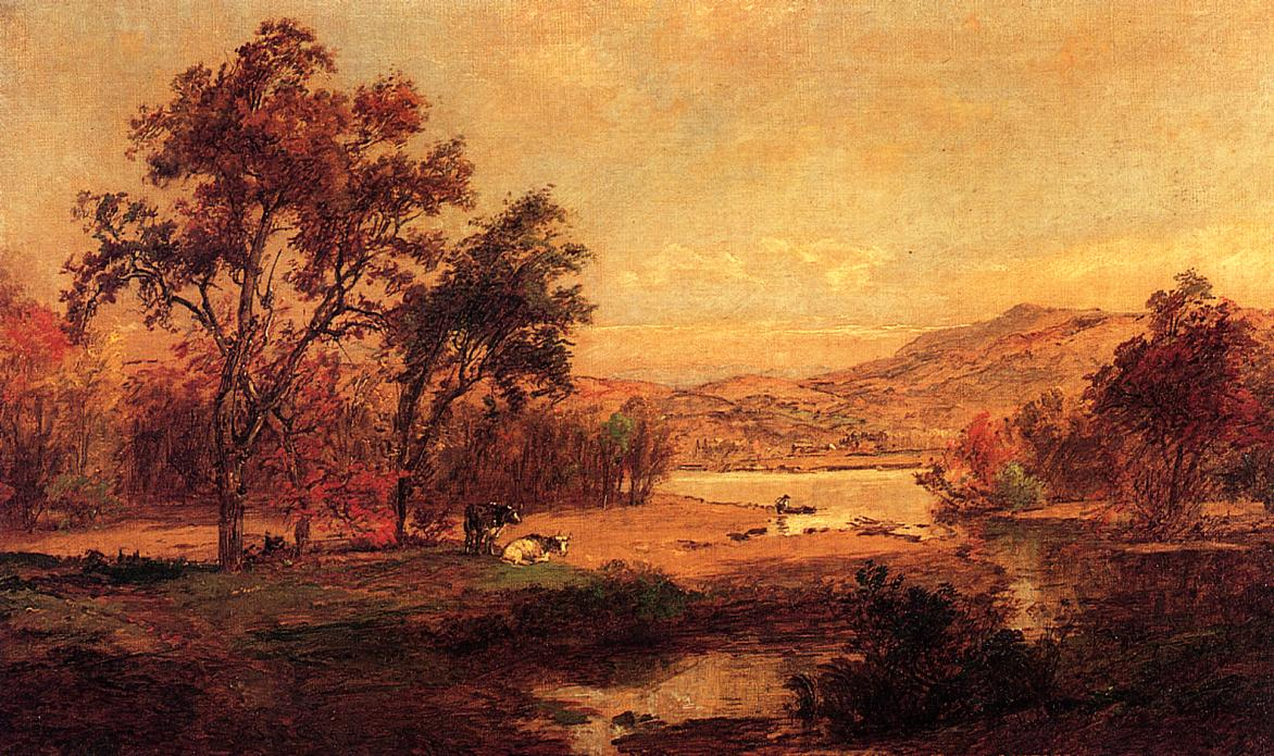 By the Lake 1893 | Francis Jasper Cropsey | Oil Painting