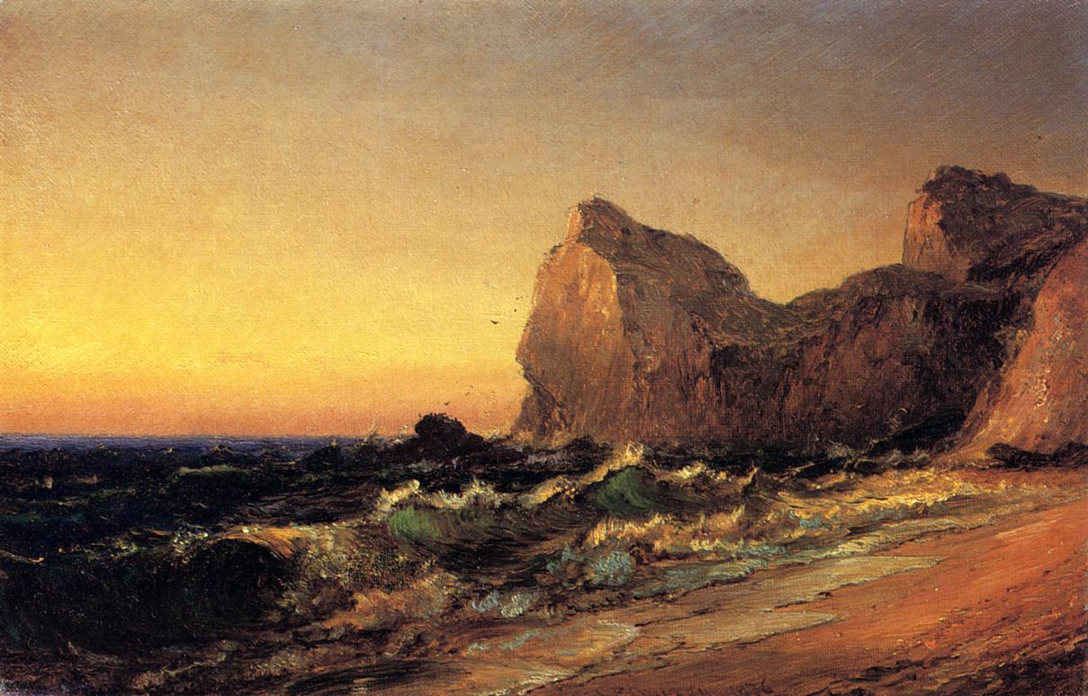 Coastal Scene 1876 | Francis Jasper Cropsey | Oil Painting
