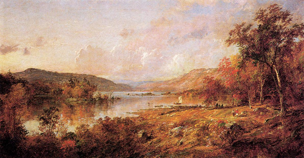 Greenwood Lake in September 1891 | Francis Jasper Cropsey | Oil Painting