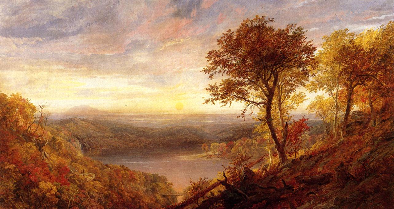 Greenwood Lake 1870 | Francis Jasper Cropsey | Oil Painting