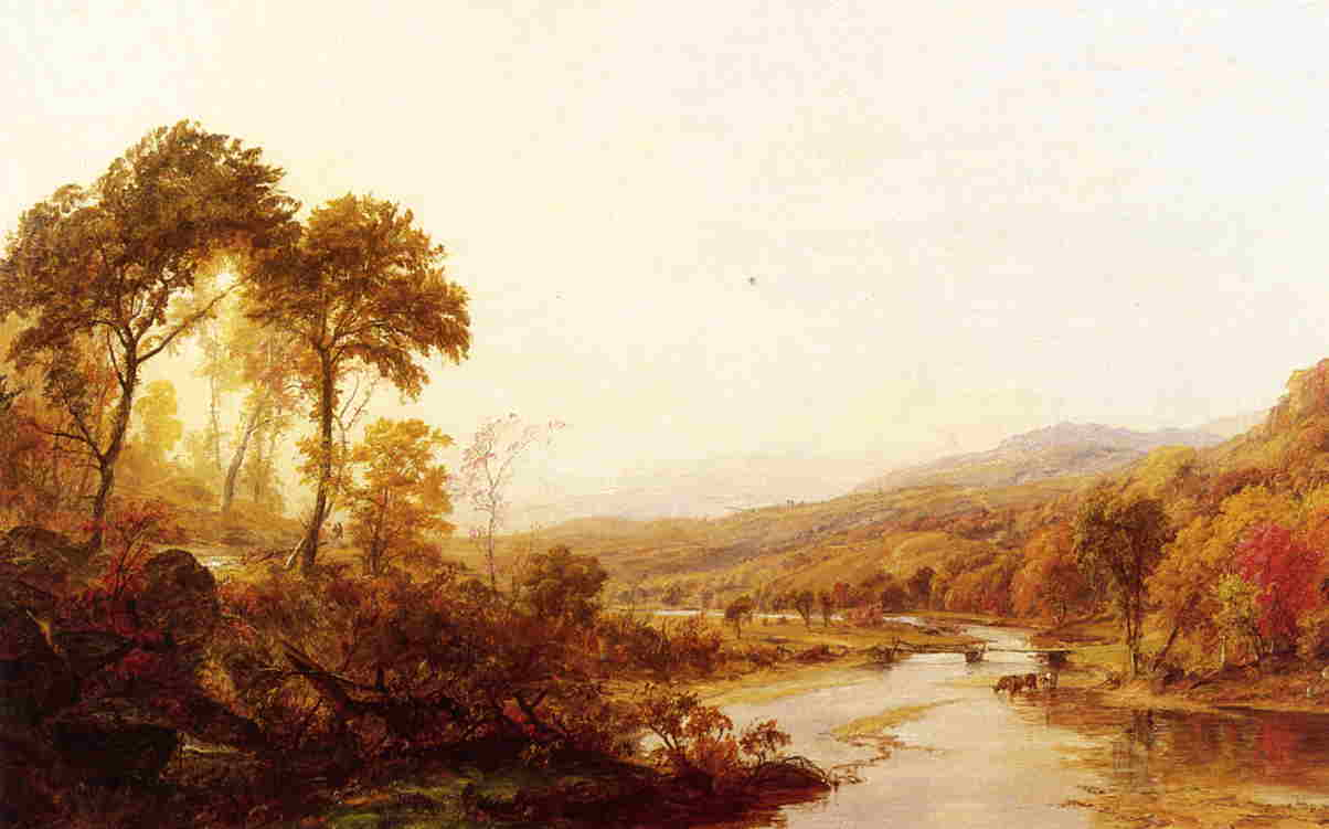 Headwaters of the Hudson 1878 | Francis Jasper Cropsey | Oil Painting