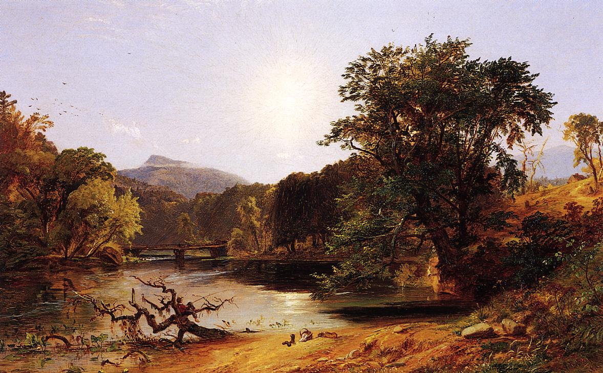 In the White Mountains 1862 | Francis Jasper Cropsey | Oil Painting