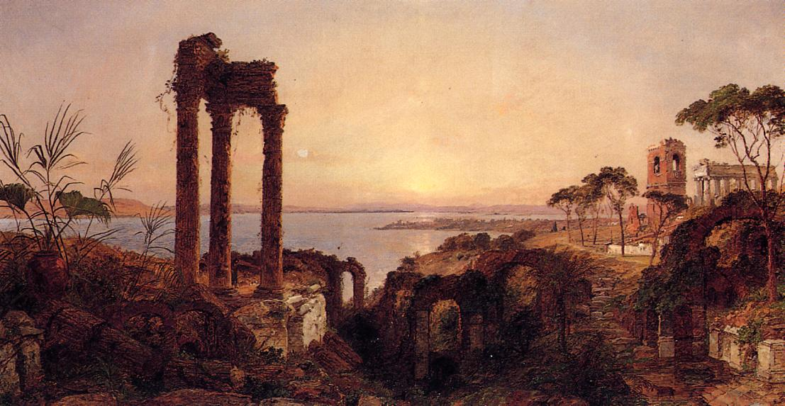 The Bay of Naples 1894 | Francis Jasper Cropsey | Oil Painting