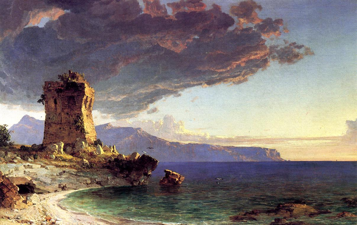 The Isle of Capri 1848 | Francis Jasper Cropsey | Oil Painting