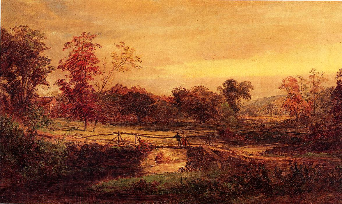 The Meeting 1894 | Francis Jasper Cropsey | Oil Painting