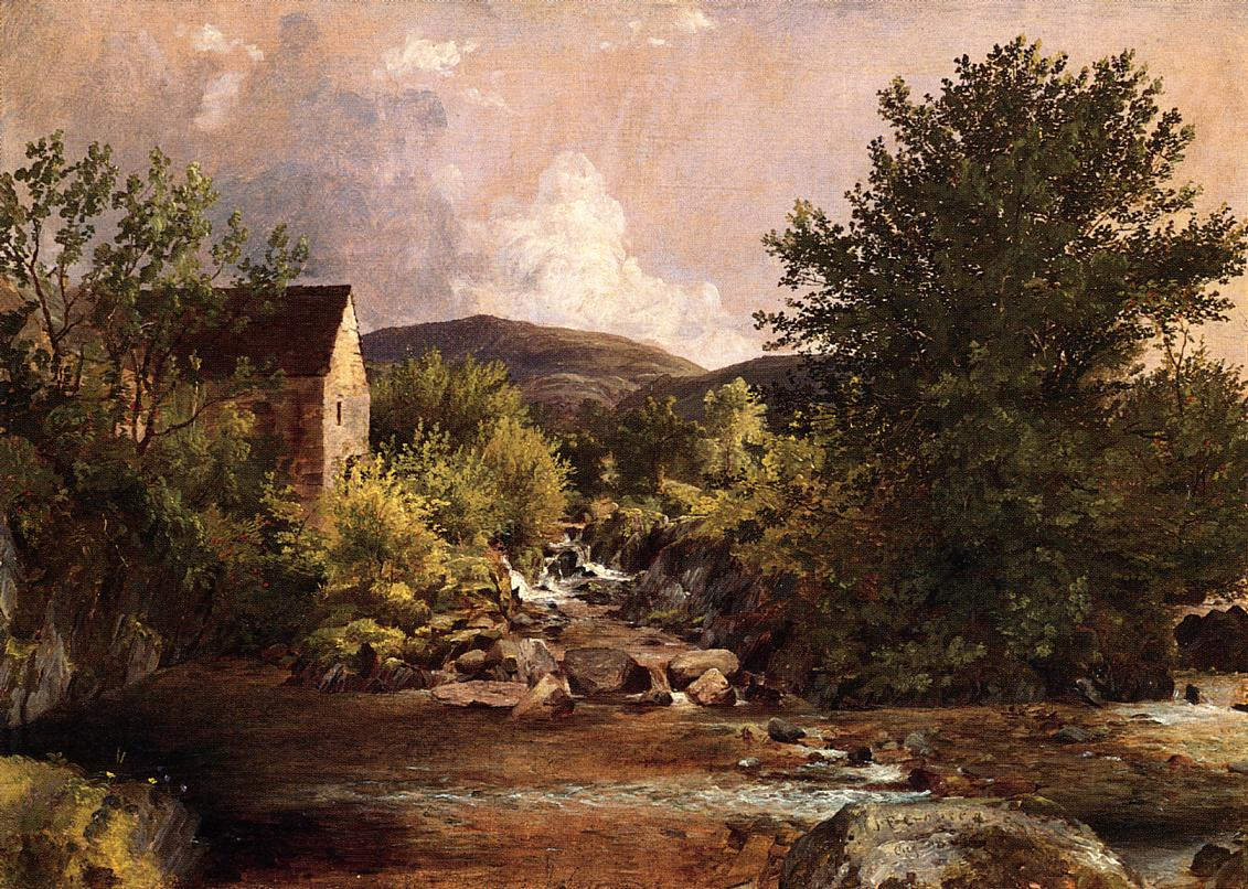 The Old Mill 1847 | Francis Jasper Cropsey | Oil Painting
