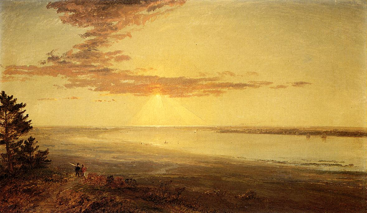 View of the Hudson 1870 | Francis Jasper Cropsey | Oil Painting