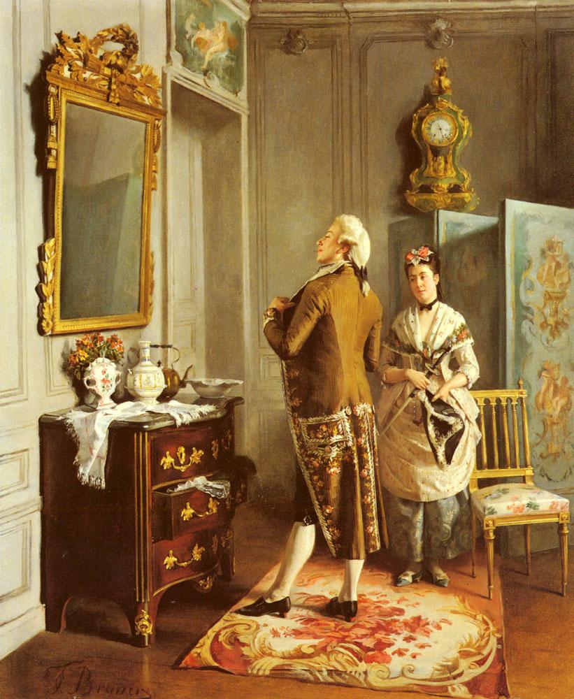 Vanity | Francois Brunery | Oil Painting