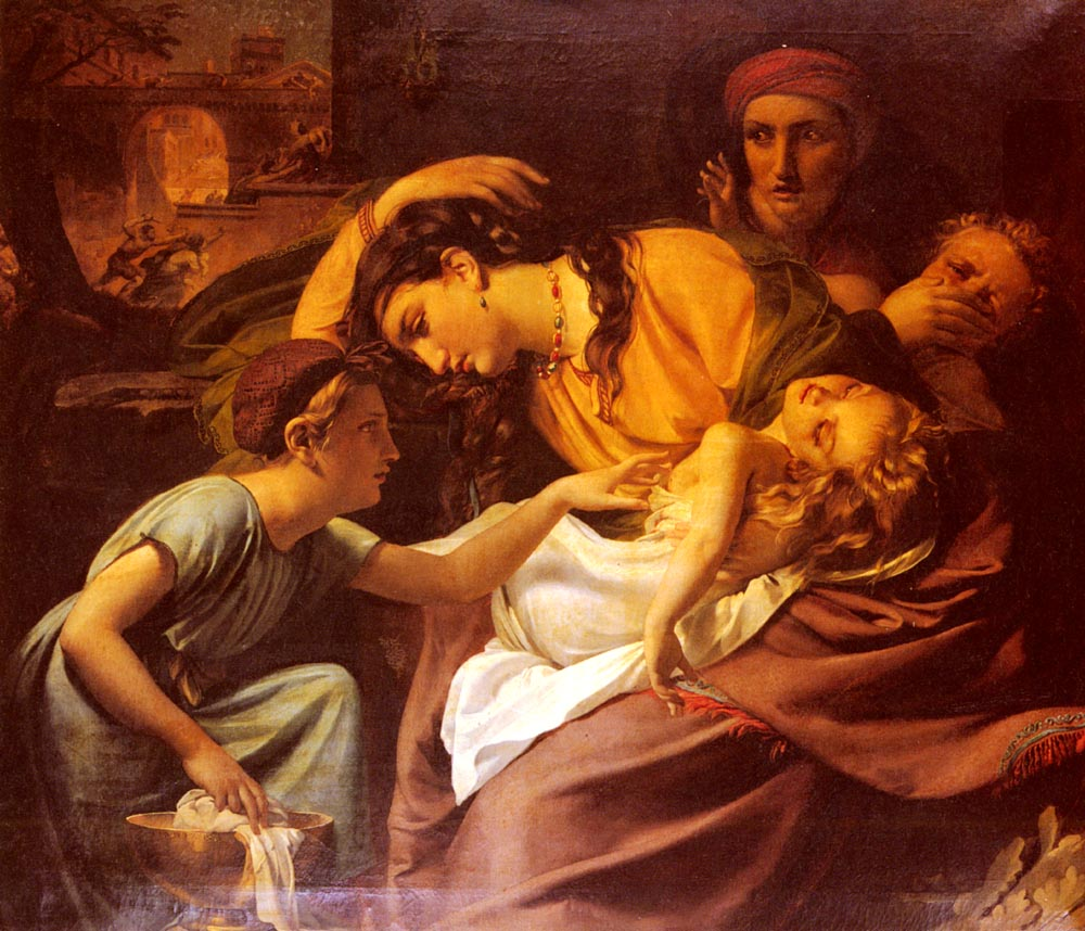 Le Massacre Des Innocents | Francois Joseph Navez | Oil Painting