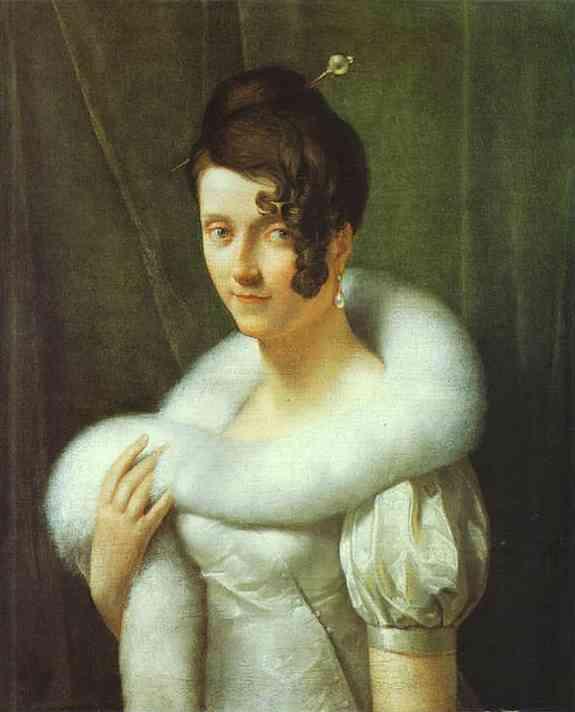 Portrait Of A Woman 1810 | Francois Pascal Simon Gerard | Oil Painting