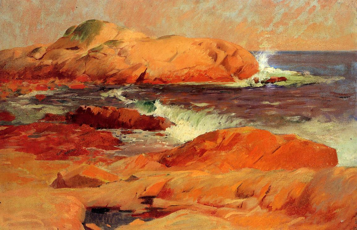 Brace's Rock 1916 | Frank Duveneck | Oil Painting