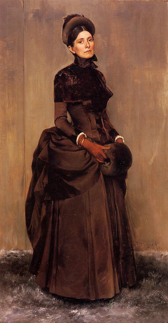 Elizabeth Boott Duveneck 1888 | Frank Duveneck | Oil Painting